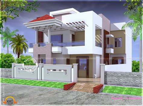 nice modern house  floor plan kerala home design