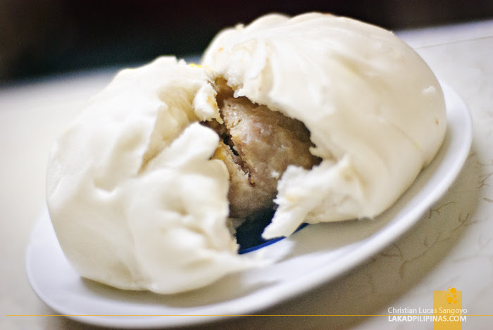 Special Bola-Bola Siopao at Luisa's Cafe in Baguio City