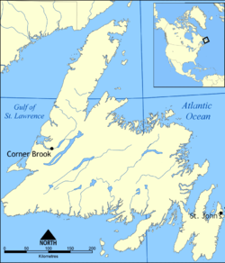 St. Anthony, Newfoundland and Labrador is located in Newfoundland