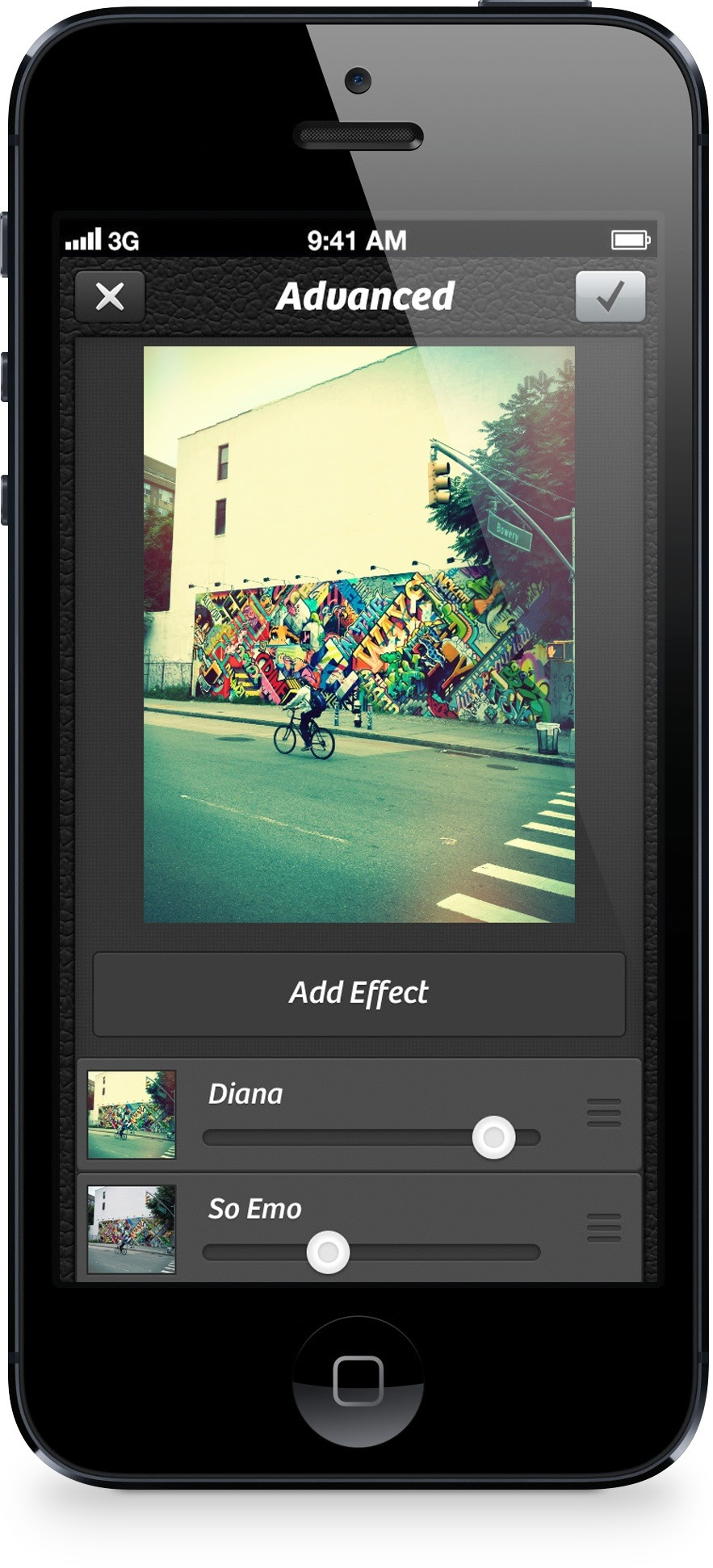 Camera Plus 3.9 for iOS (Effects Layering 001)