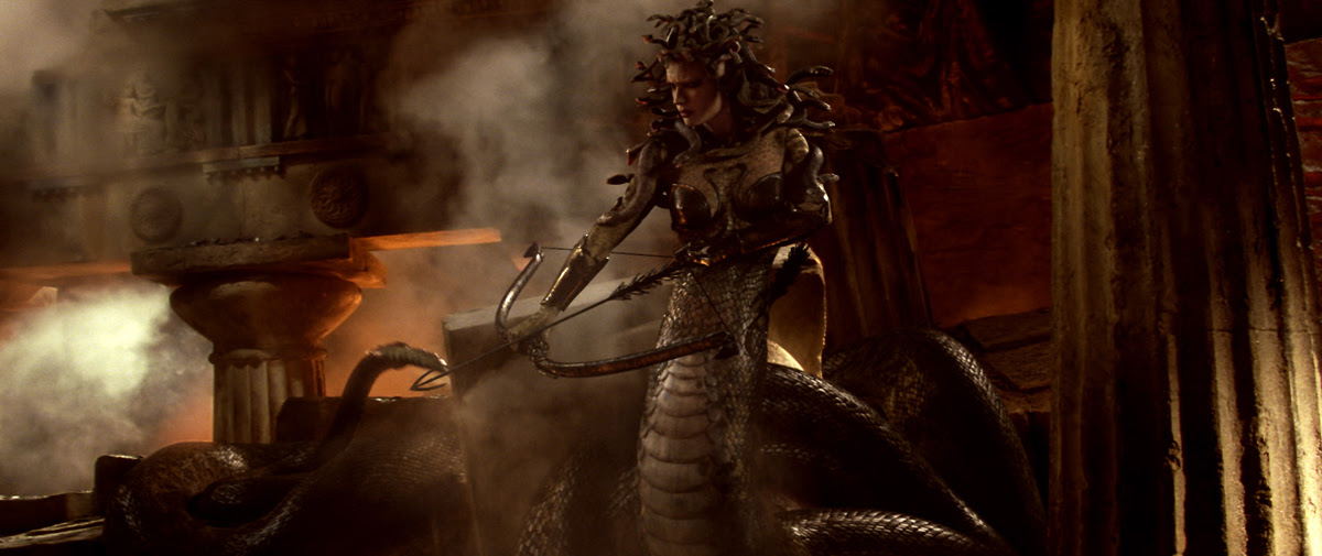 Medusa looks very cool and we see her in action here after the magazine pic