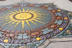 Zodiac mosaic, Cà d'Zan