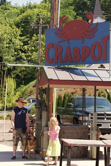 Crabby Claws (aka Kevin) at Crabpot