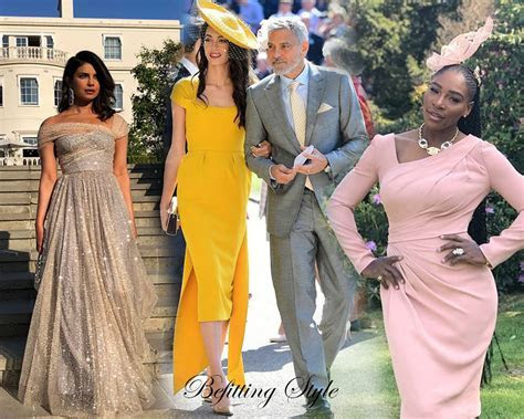 Best Dressed Guests at The Royal Wedding   Befitting Style