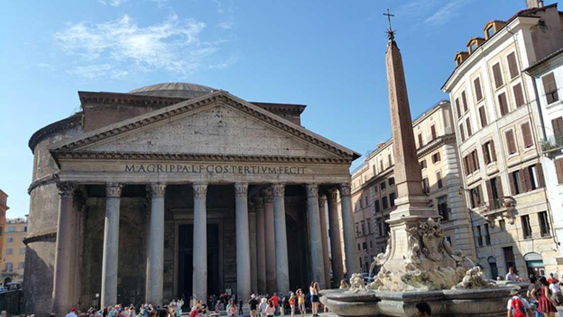El Panteón de Roma. (Dominio público)