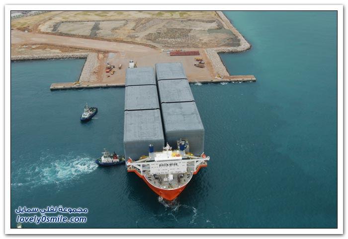 الزرقاء مارلن أكبر شركة نقل في العالم
