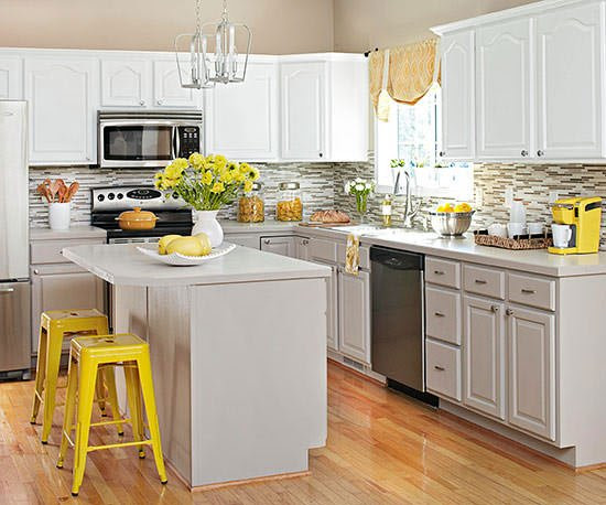 Quick Kitchen Makeovers on a Dime! • The Budget Decorator