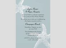 reception invitations   Reception Invitation Wording, After a Private Wedding Ceremony   in