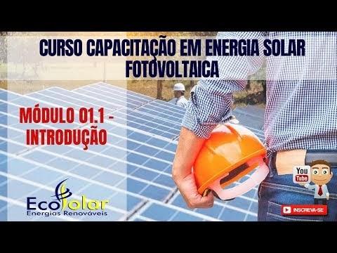 CURSO DE CAPACITAÇÃO EM ENERGIA SOLAR FOTOVOLTAICA