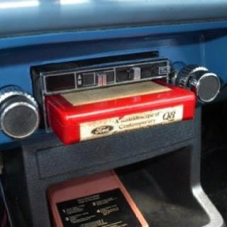 8 track tape player in the car... living LARGE baby!!!