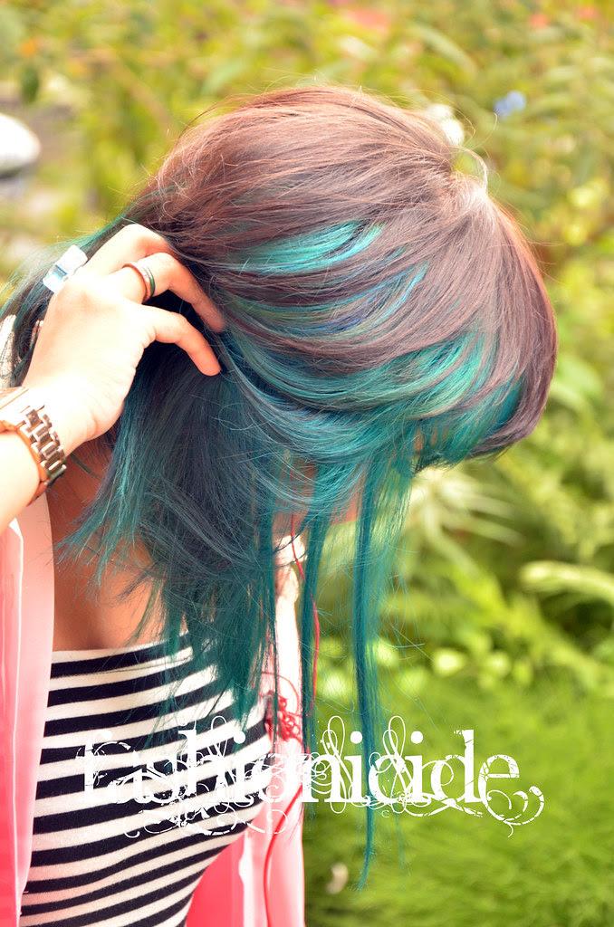 TurquoiseOmbreHair3