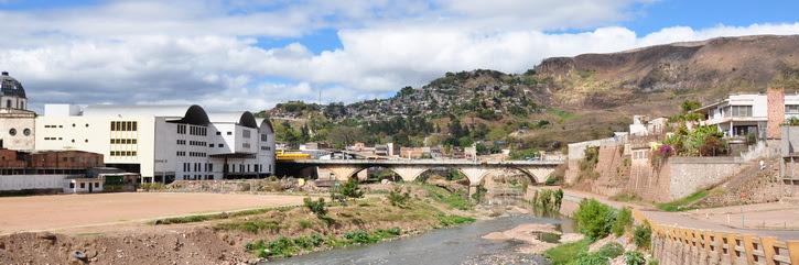 la capitale du Honduras Tegucigalpa