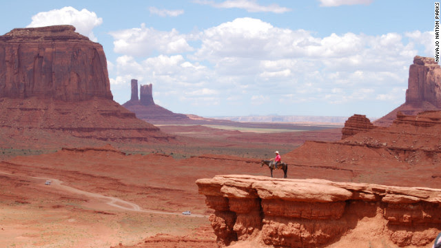 Monument Valley -- more beautiful in reality than in the movies. How many screen legends can say that?