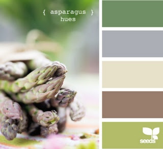 asparagus color pallet! What I want to use for our bed room in the next place.