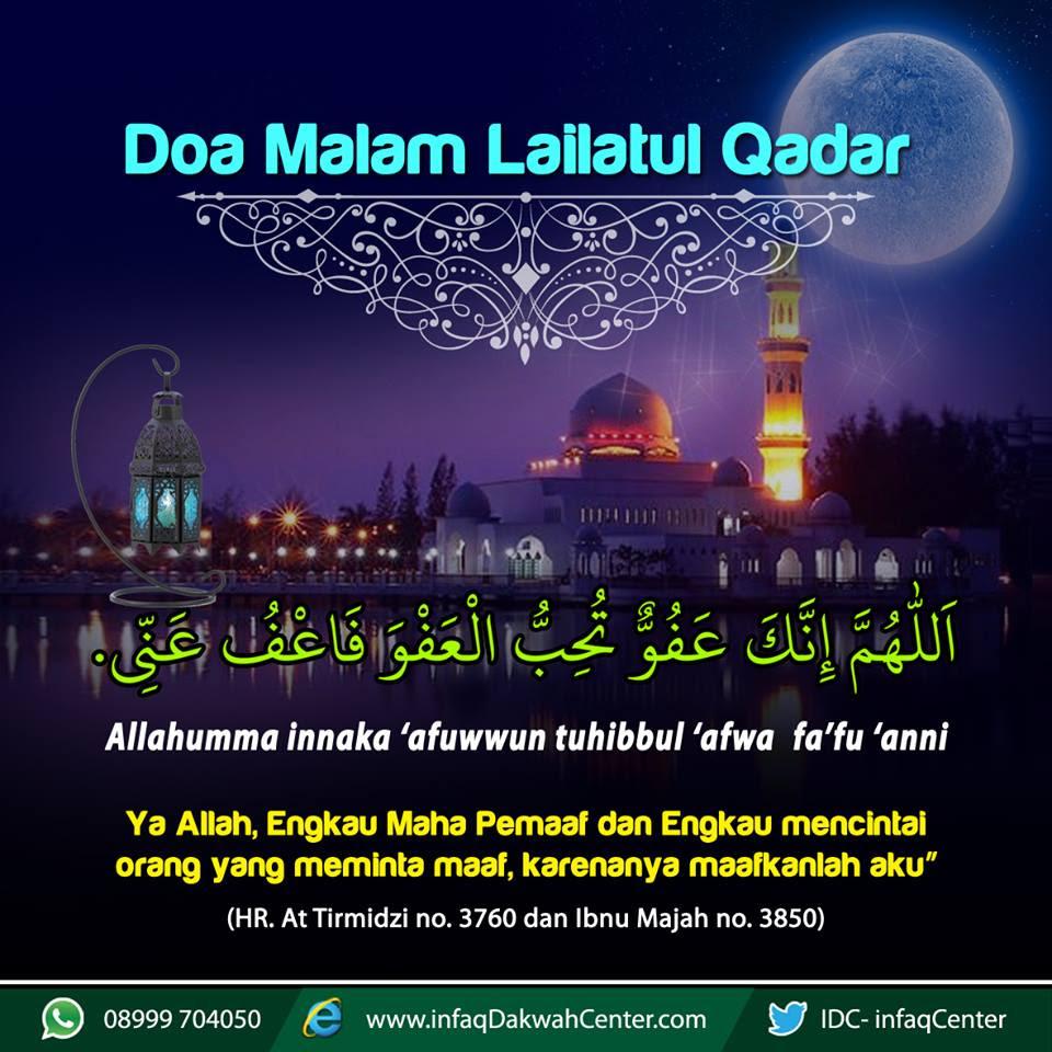 Doa Malam Lailatul Qadar Lengkap