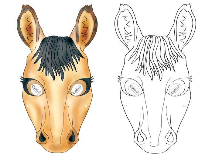 1000+ ideas about Horse Mask on Pinterest | Animal masks, Paper ...