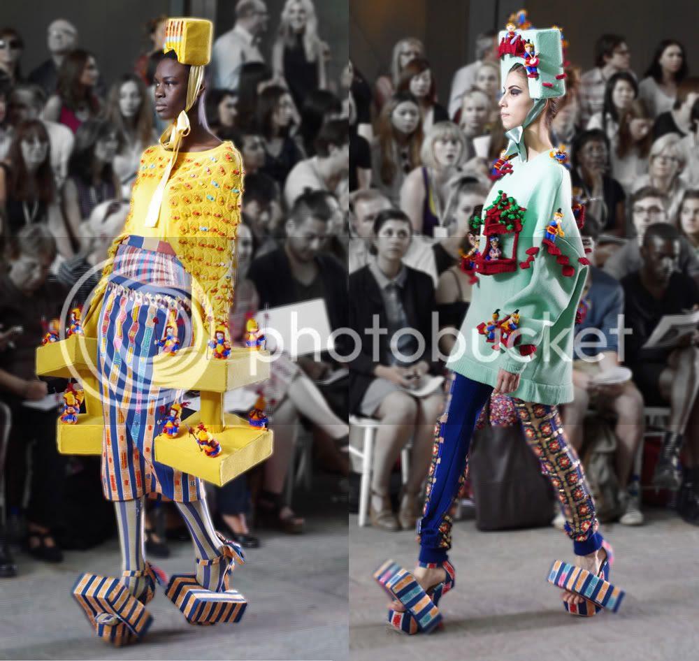 Ruoxin Jin (Fashion Knitwear) CSM BA Press Show