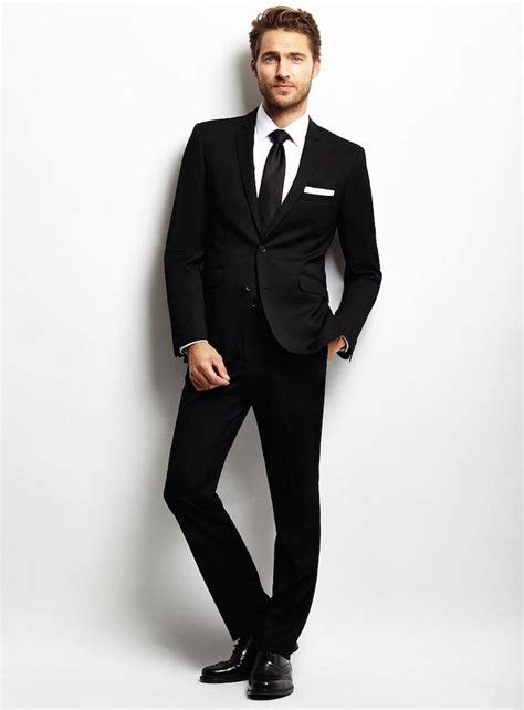 black suit  men mens fashion formal men