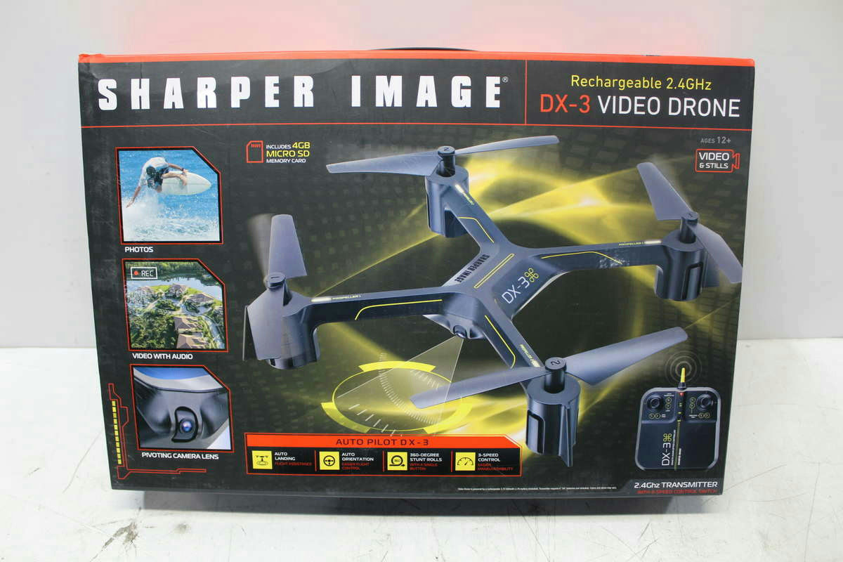 Sharper Image Dx 4 Drone Instructions