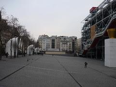 Centre Pompidou Courtyard
