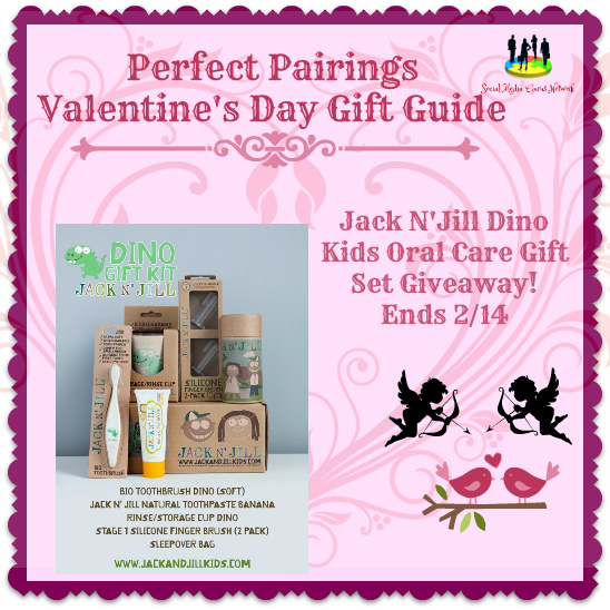 Enter the Jack N'Jill Oral Care Gift Set Giveaway . Ends 2/14