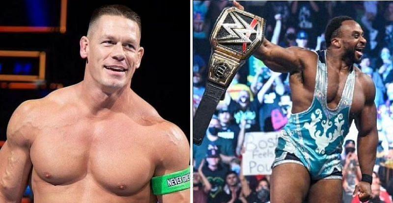 John Cena reacts to Big E's WWE title win