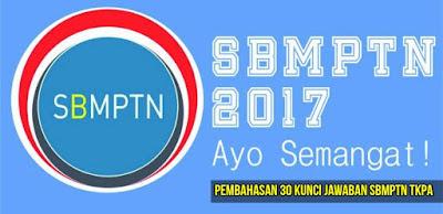 Penjelasan Kunci Jawaban Soal Try Out SBMPTN TKPA 2017