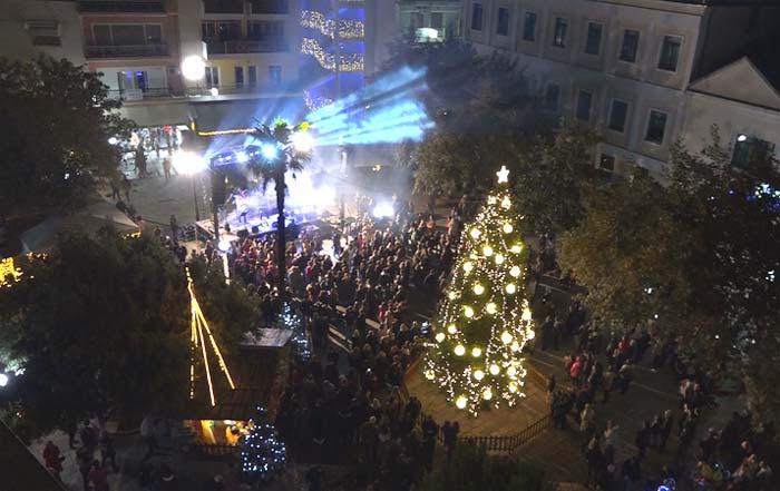 Άρτα: Ξεκίνησε το φετινό «Χριστουγεννιάτικο ταξίδι» στην Άρτα