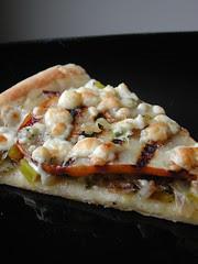 Carmelized Leek Pizza