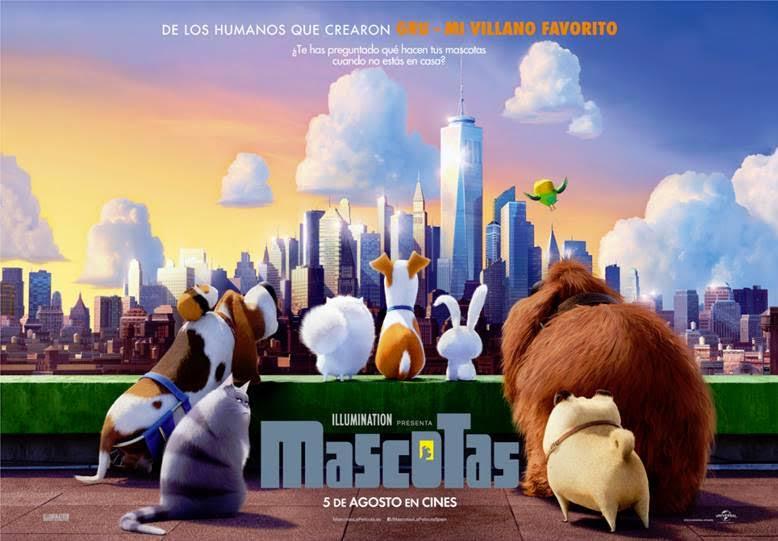 Resultado de imagen de mascotas película