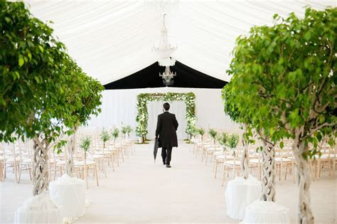 Wedding Ceremony in the Garden Pavilion at Mar Hall Hotel