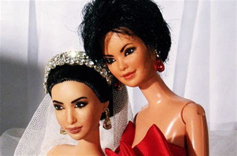 Kanye West And Kim Kardashian Barbies Make The Journey