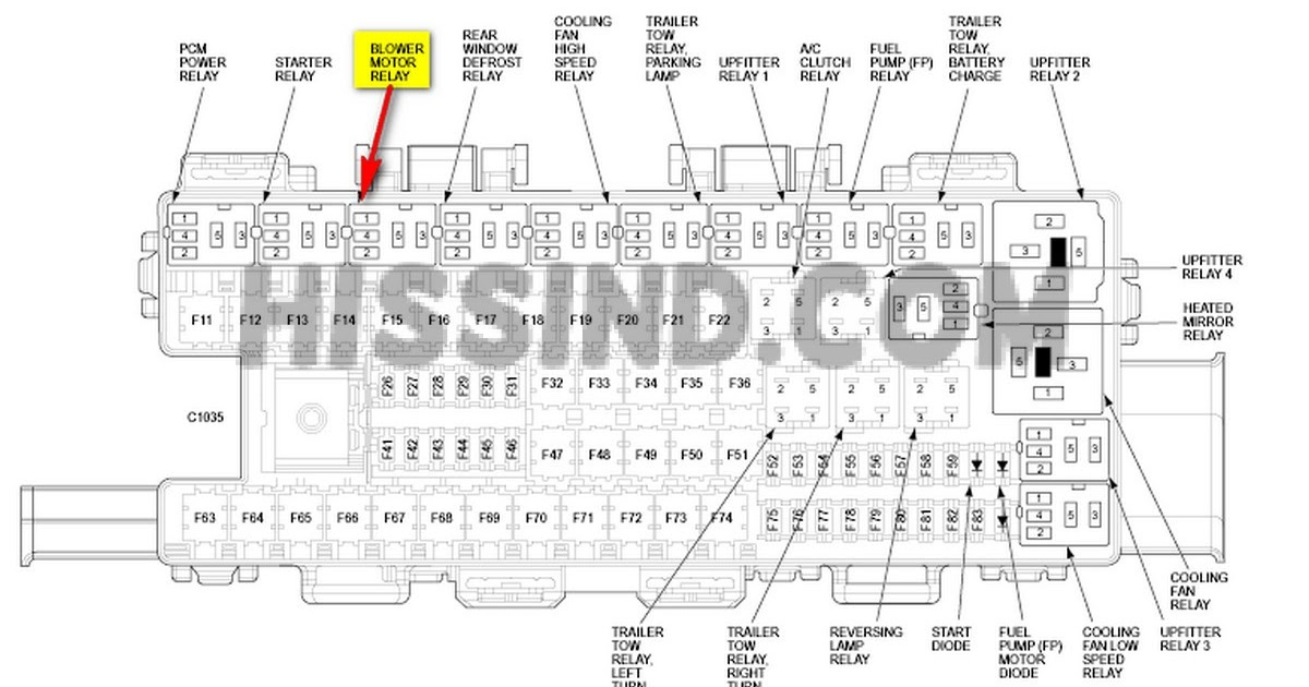 34 1994 Ford F150 Fuse Box Diagram
