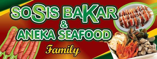 Desain Banner Sosis Bakar - contoh desain spanduk