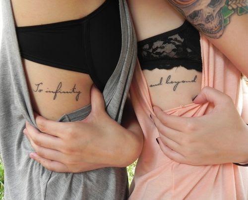 20 Tatuajes Sólo Para Mejores Amigas