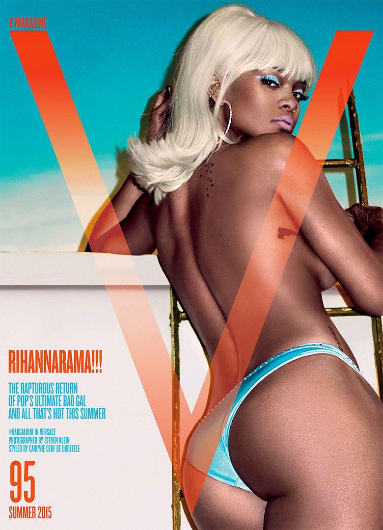 Rihanna : V (Summer 2015) photo rihanna-v-magazine-cover-1429625880.jpg