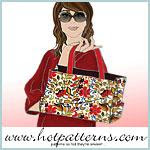 Life's A Beach Tote Bag Pattern