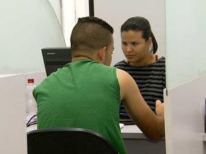 Posto de Atendimento ao Trabalhador (PAT) de Sumaré recebe candidatos à vaga de emprego (Foto: Reprodução EPTV)