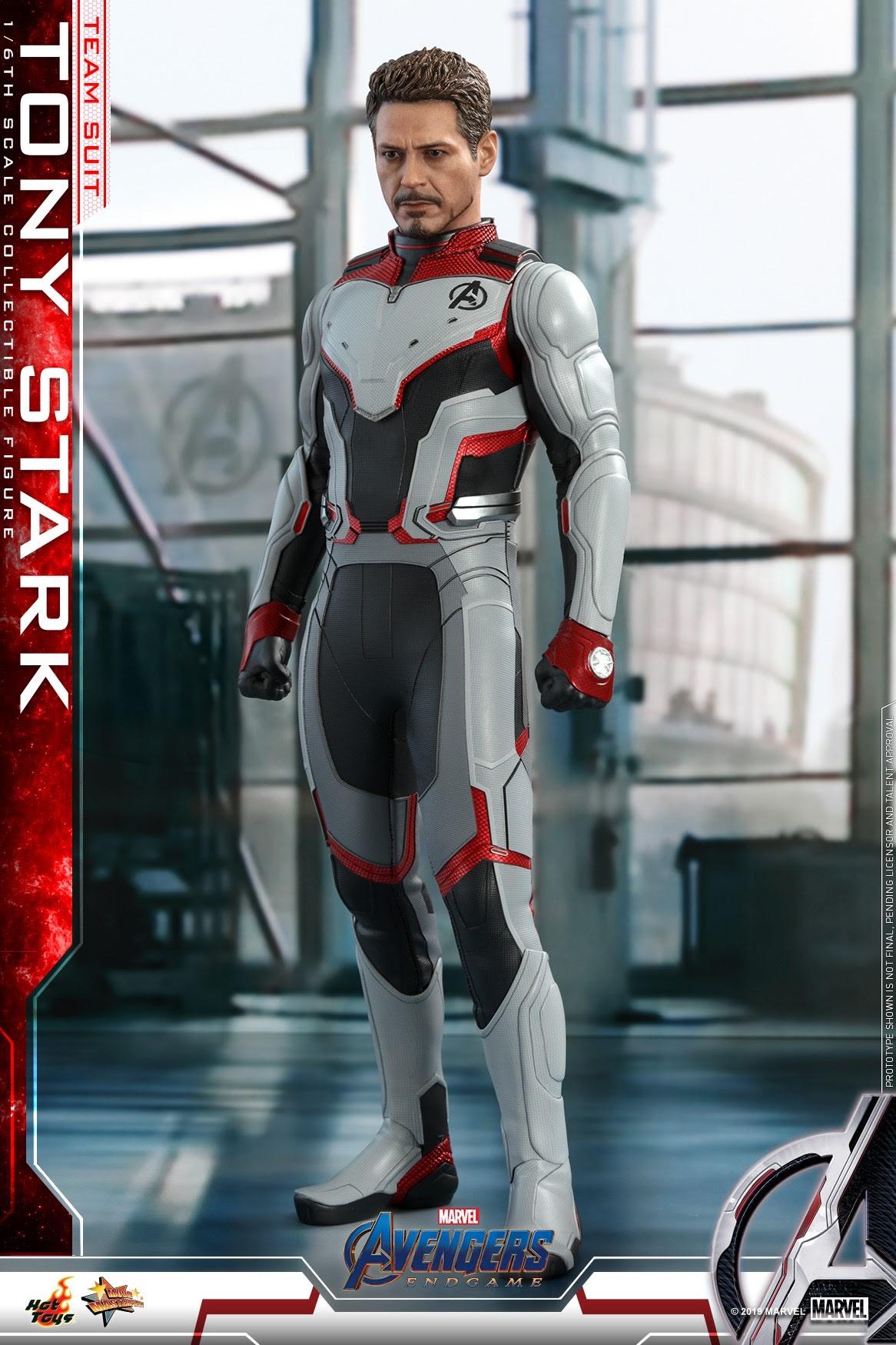 Avengers: Endgame - Tony Stark (Team Suit) Collectible ...