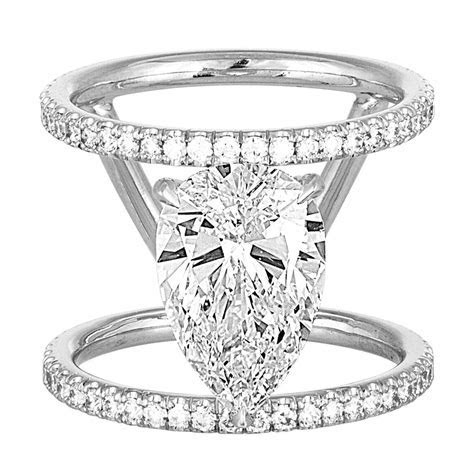 Open Double Band Engagement Ring ? Stephanie Gottlieb