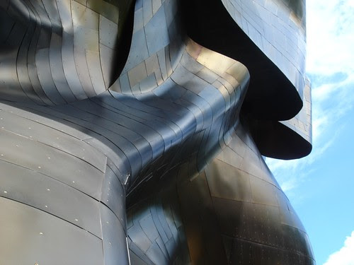 Seattle Center / Experience Music Project by trudeau