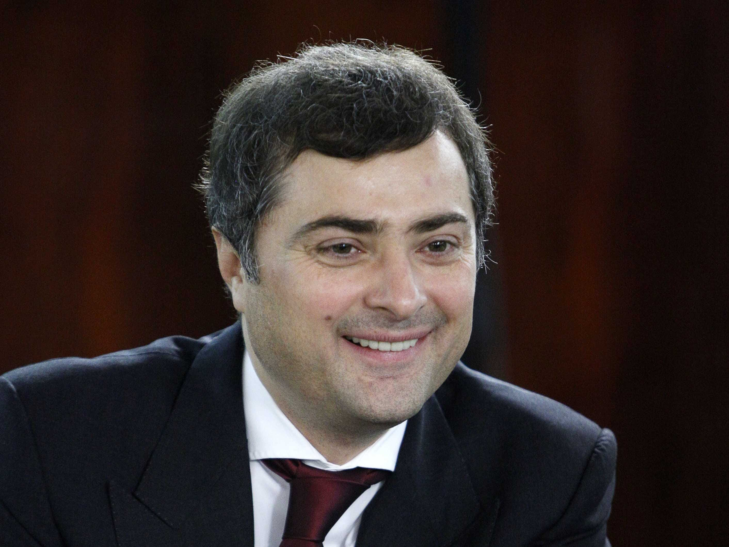 Image result for Vladislav Surkov as the agent of the New Abwehr