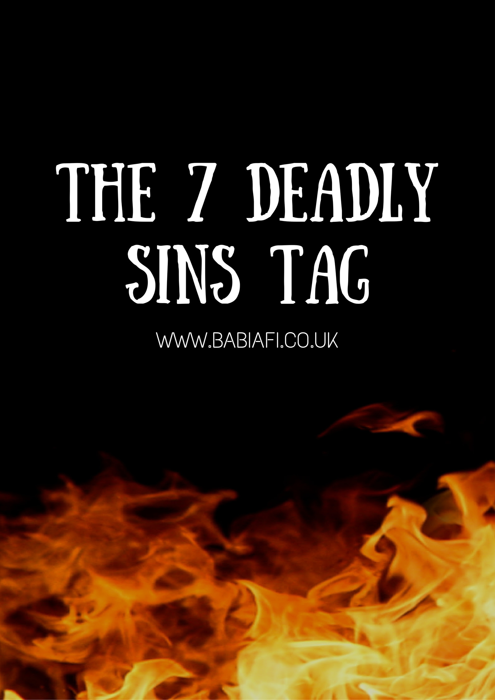 The 7 Deadly Sins Tag