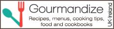 Recipes, menus, cooking tips, food and cookbooks - Gourmandize UK & Ireland