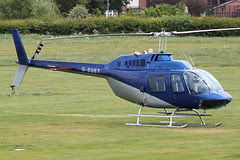 G-SUET - 1968 build Bell 206B Jet Ranger II