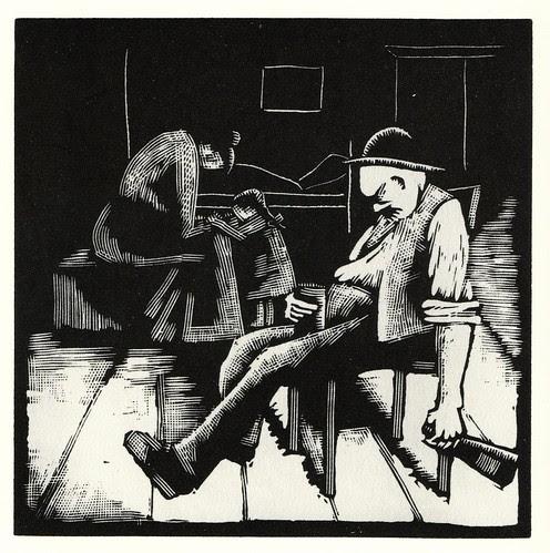 Graphic Novel illustration by Otto Nuckel b