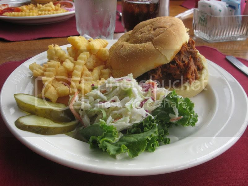 Skyland Pulled Pork Sandwich
