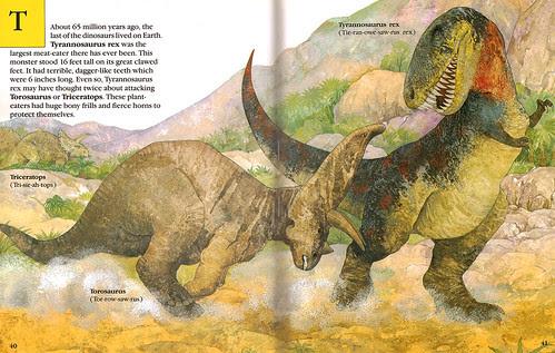 Torosaurus v. Tyrannosaurus