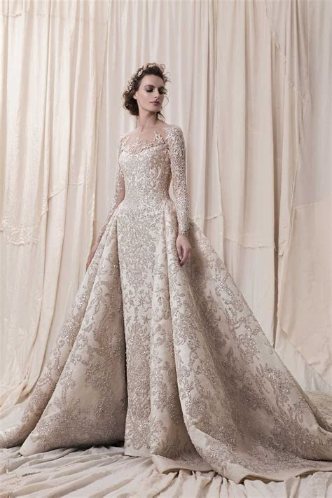 2018 Wedding Dresses by Krikor Jabotian   Arabia Weddings