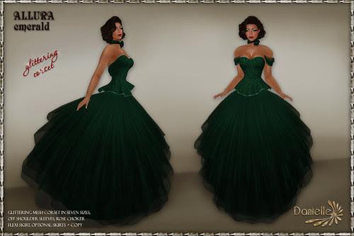 DANIELLE Allura Emerald